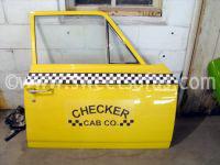 Checker Cab Door