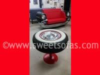 Car Furniture | Tire Coffee Table