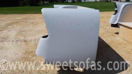 56 Chevy Rear Sofa Primed
